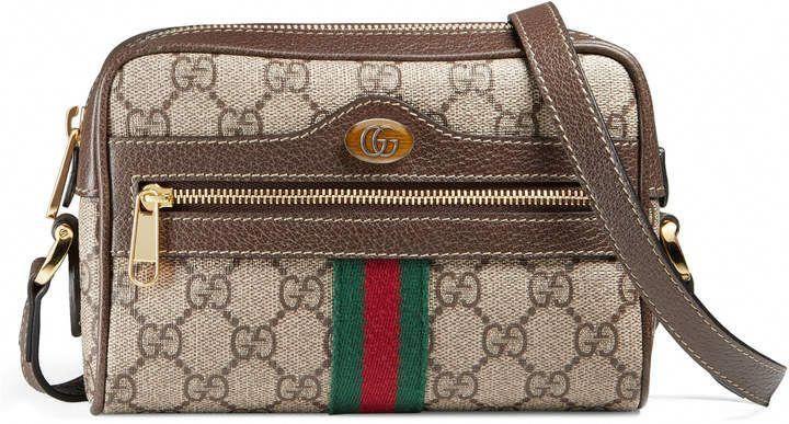 aff16ca6c Gucci Ophidia GG Supreme mini bag #Guccihandbags   Sapatos e bolsas ...