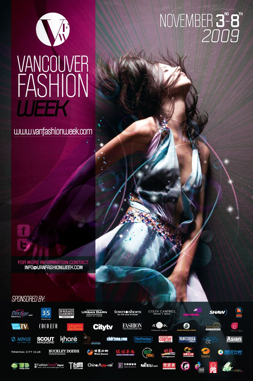 Jamie Cartwright London Fashion Week Poster using Photography – Fashion Poster Design