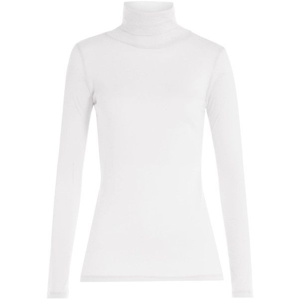 Majestic Cotton-Cashmere Turtleneck (4,445 INR) ❤ liked on ...