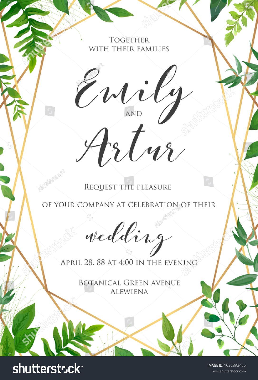 Natural botanical wedding invitation invite save the date template natural botanical wedding invitation invite save the date template vector floral design card stopboris Gallery