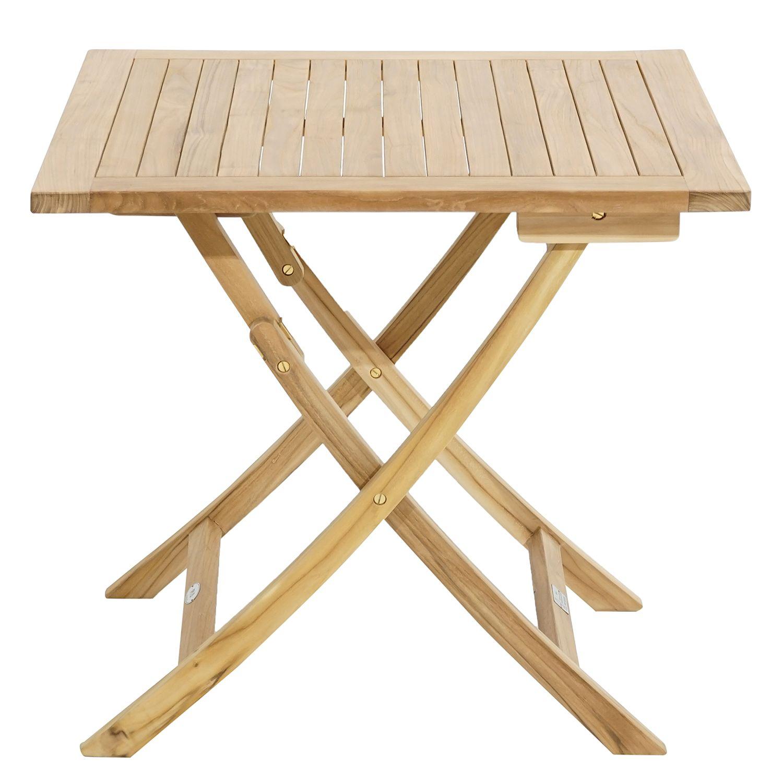 Gartenklapptisch York I Gartentisch Holz Klappbar Teak Esstisch