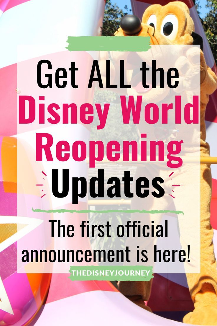 Disney world reopening news and updates in 2020 disney