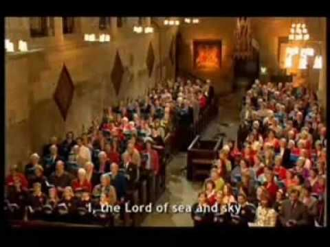 The Choir Of Hexam Abbey Sing Along With Congregation Hymn Here I Am