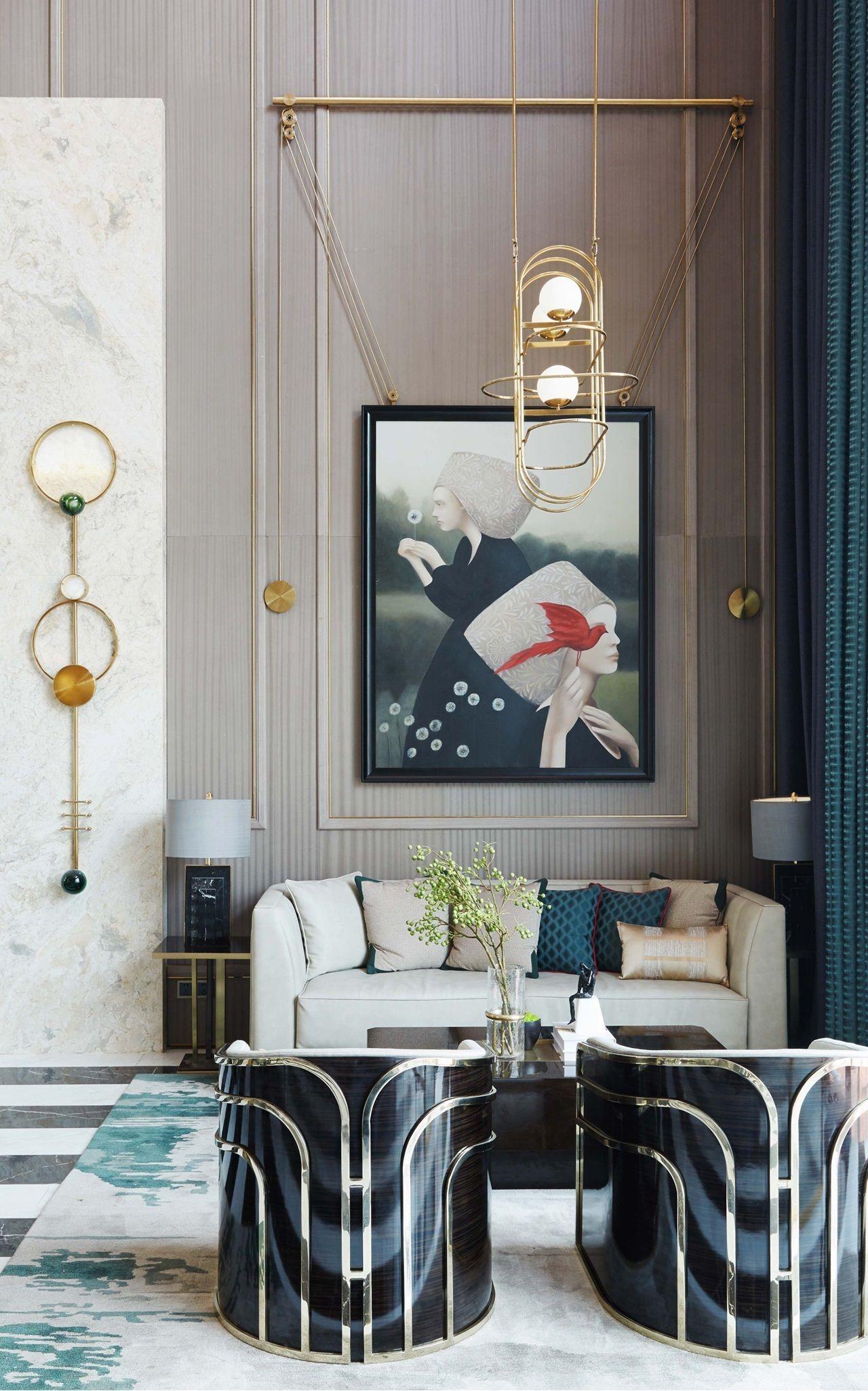 Stunning Modern Interpretation Of Memphis Style Room Interior