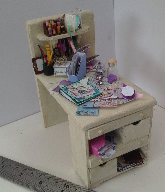 Dolls House Miniatures Scrapbook Craft by LittleHouseAtPriory