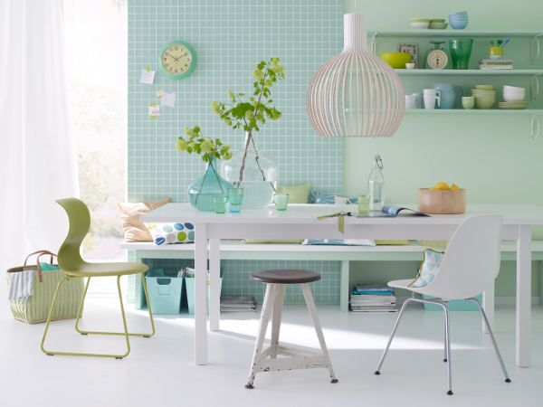 K che in mintgr n interior design pinterest mintgr n for Wohnideen pastellfarben