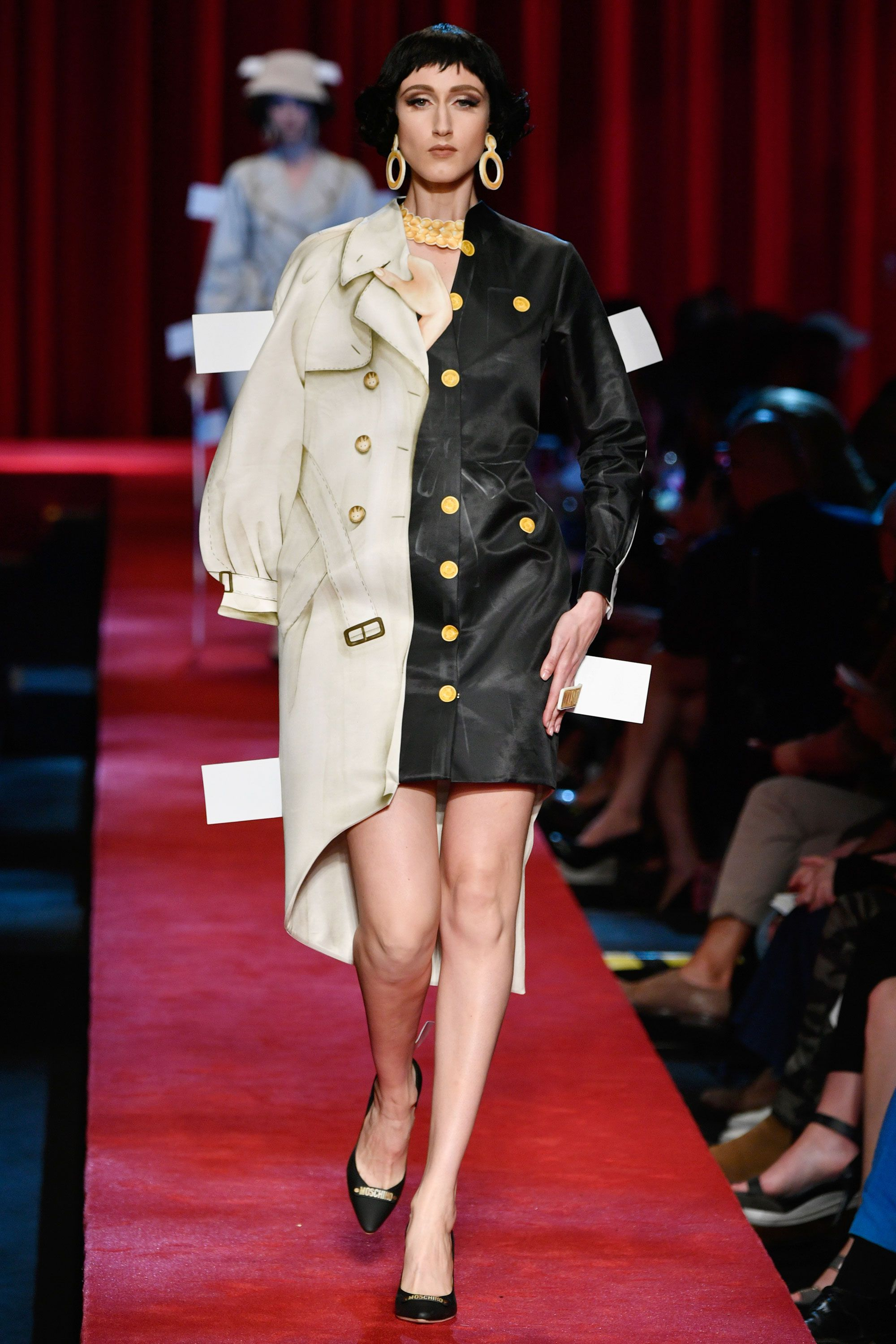 Milan Fashion Week: images from Moschino, Missoni, Versace shows