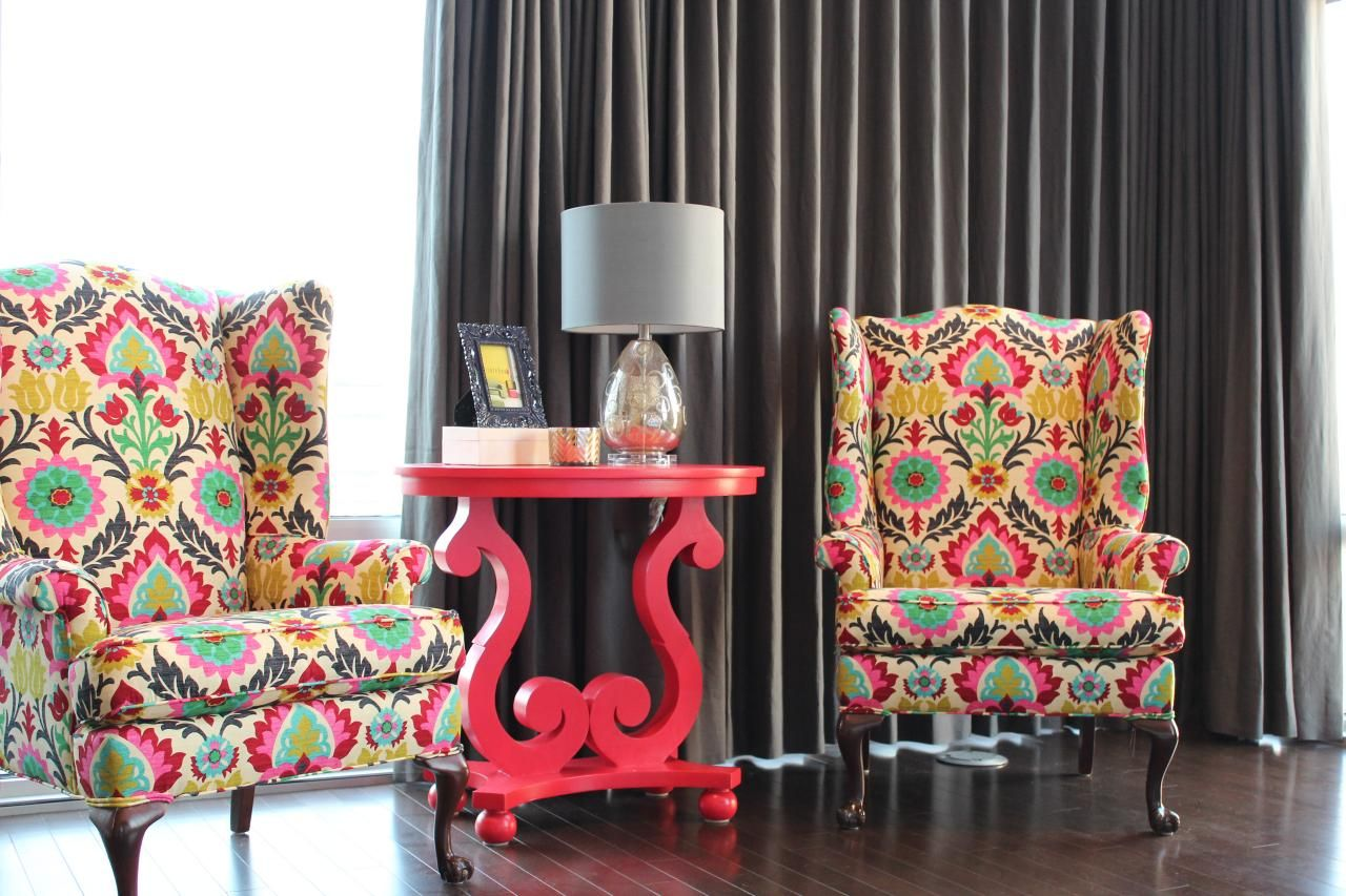 colorful chairs for living room.  Inspirations