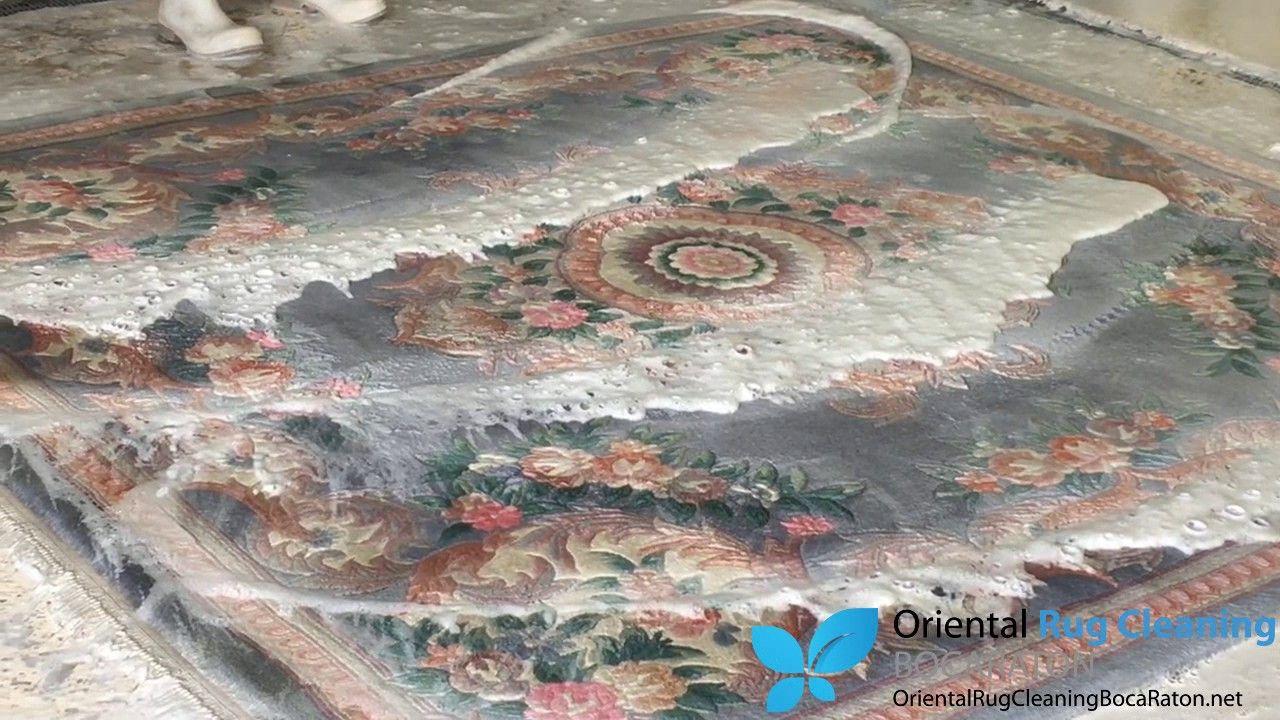 5 Step Oriental Rug Cleaners Process Boca Raton