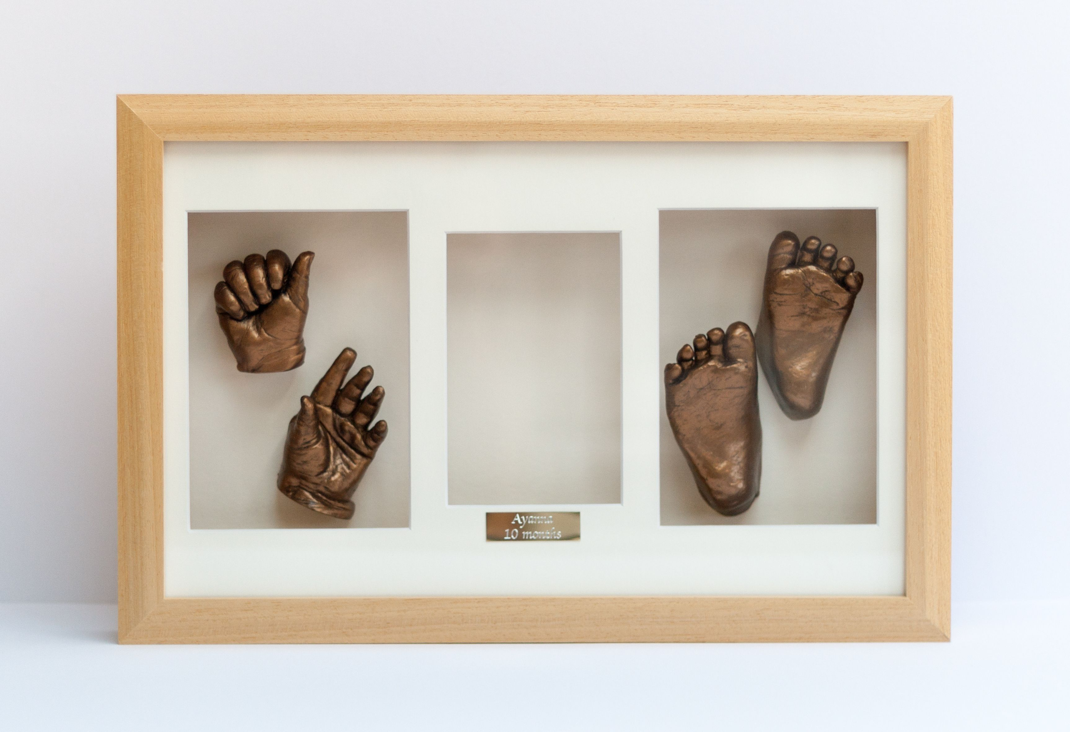 2 Hands and 2 Feet in a 16 x 10 Frame with Photo Aperture and ...