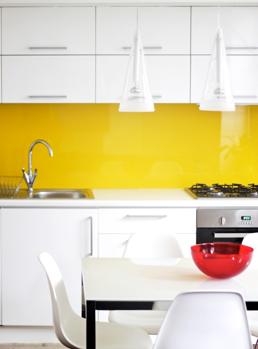 Charmant Take A Look At The Following Features To Complete Your Yellow Kitchen Decor