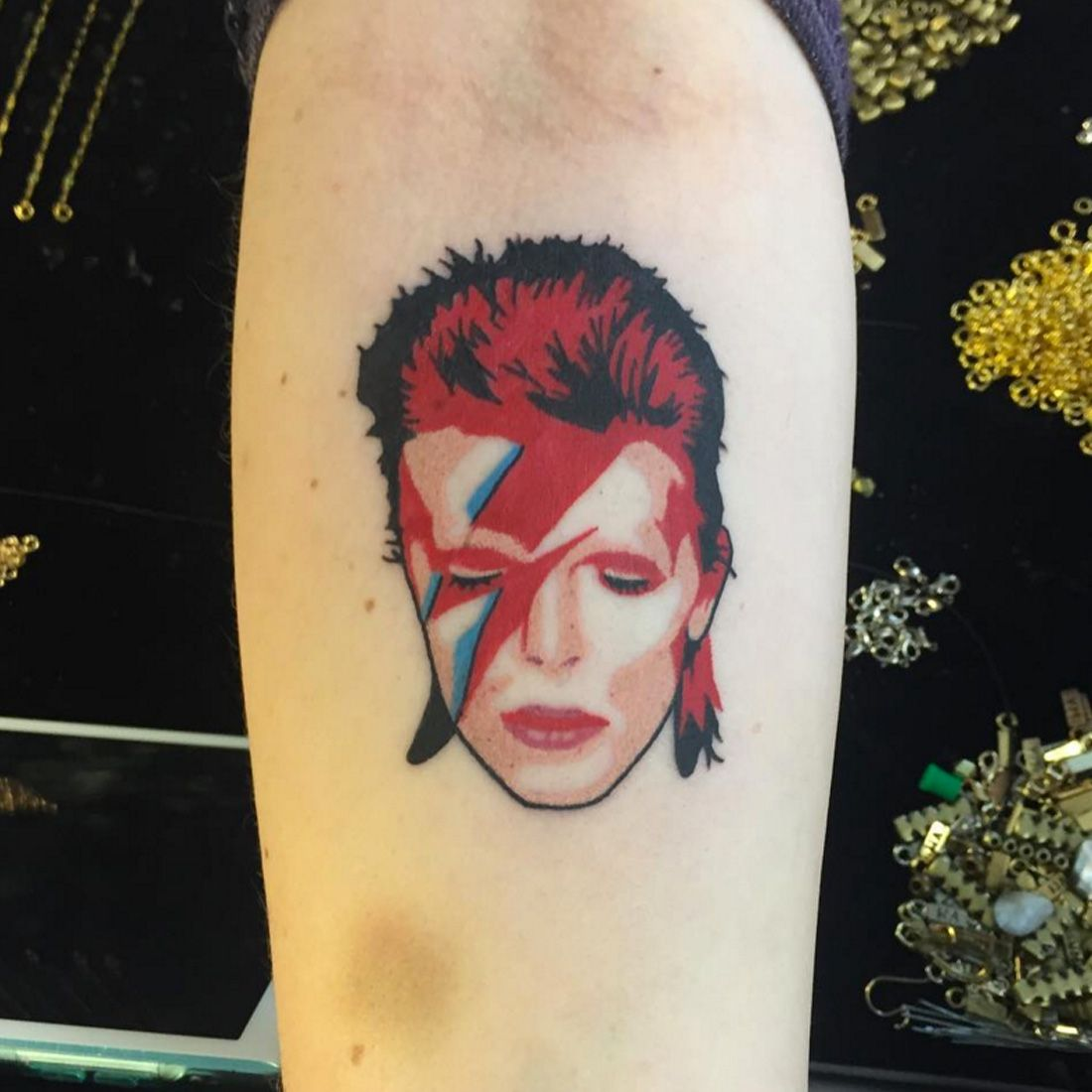 29 Hunky-Dory Tattoos That Pay Homage to David Bowie