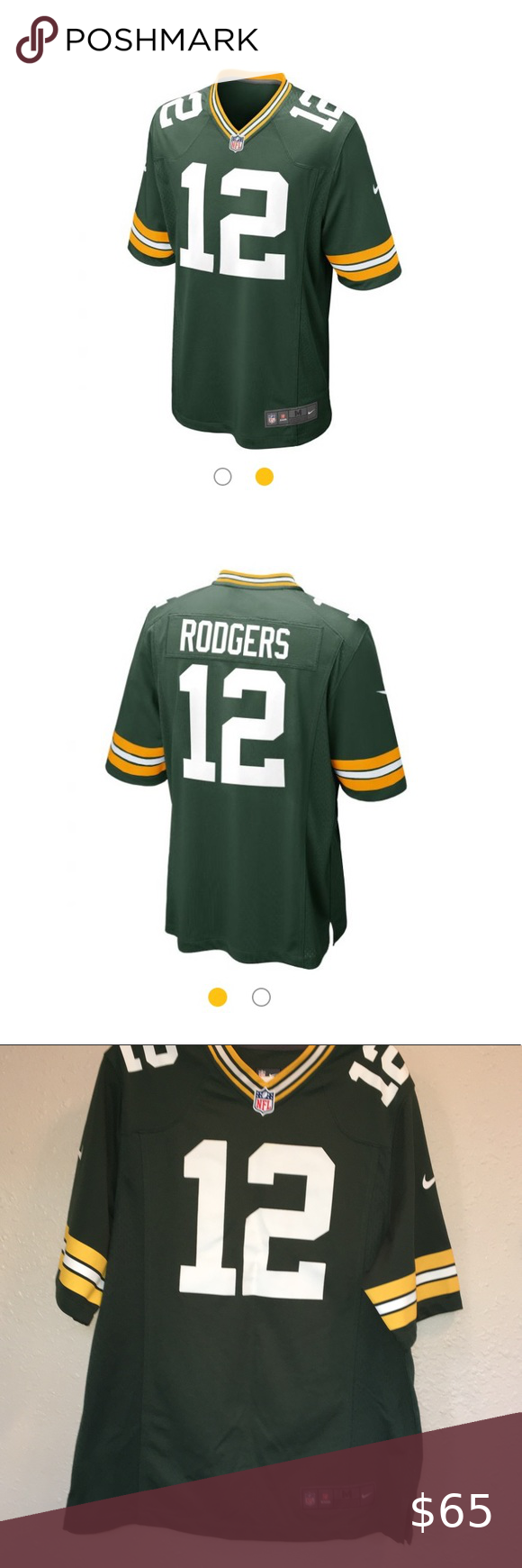 Nfl Aaron Rodgers Home Game Jersey In 2020 Nfl Nfl Shirts Aaron Rodgers