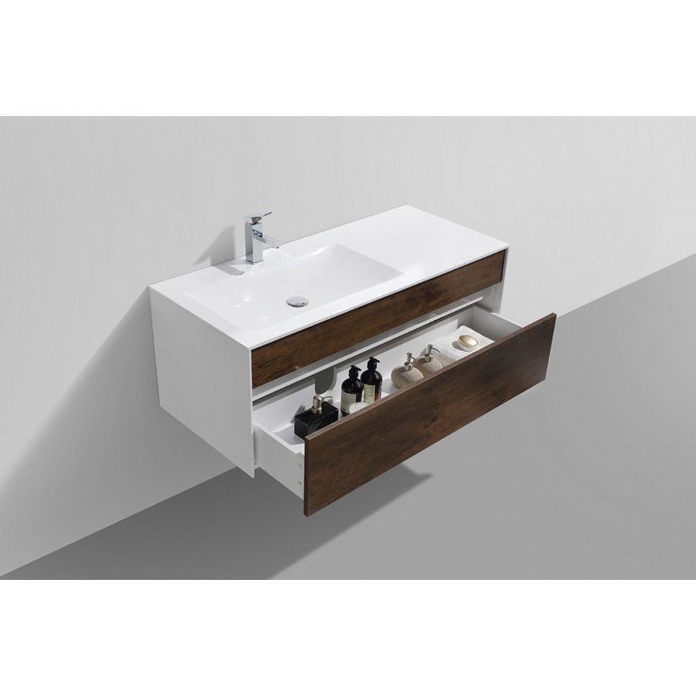 Fitto 48 | Single bathroom vanity, Vanity, Wall mounted vanity