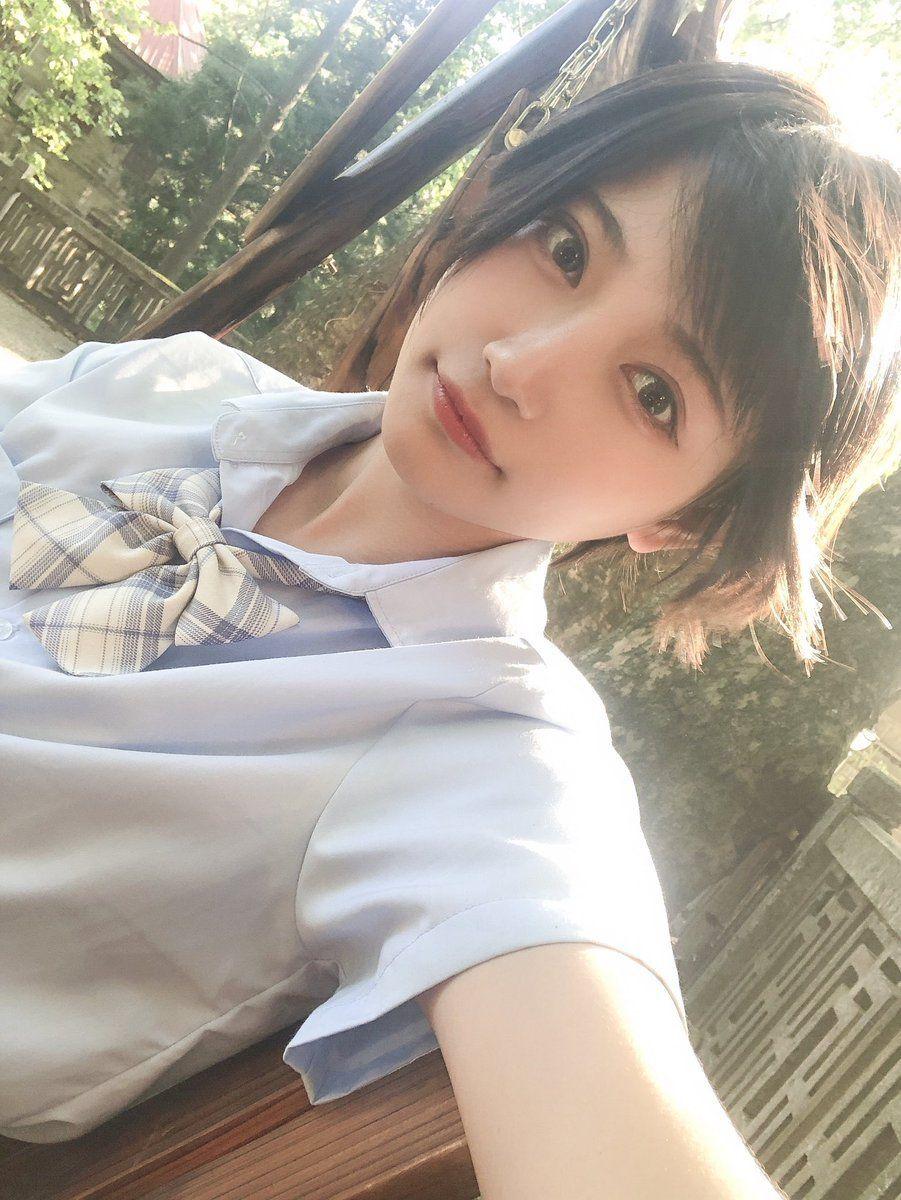 d7fb0053f Japanese School, Japanese Girl, High School Girls, Short Girls, Asian Short  Hair, Girl Short Hair, Cool Girl, Cute Girls, Stylish Girl