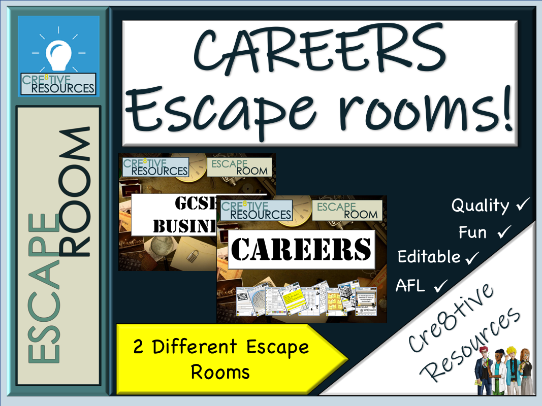 Careers Gatsby Standards Escape Room