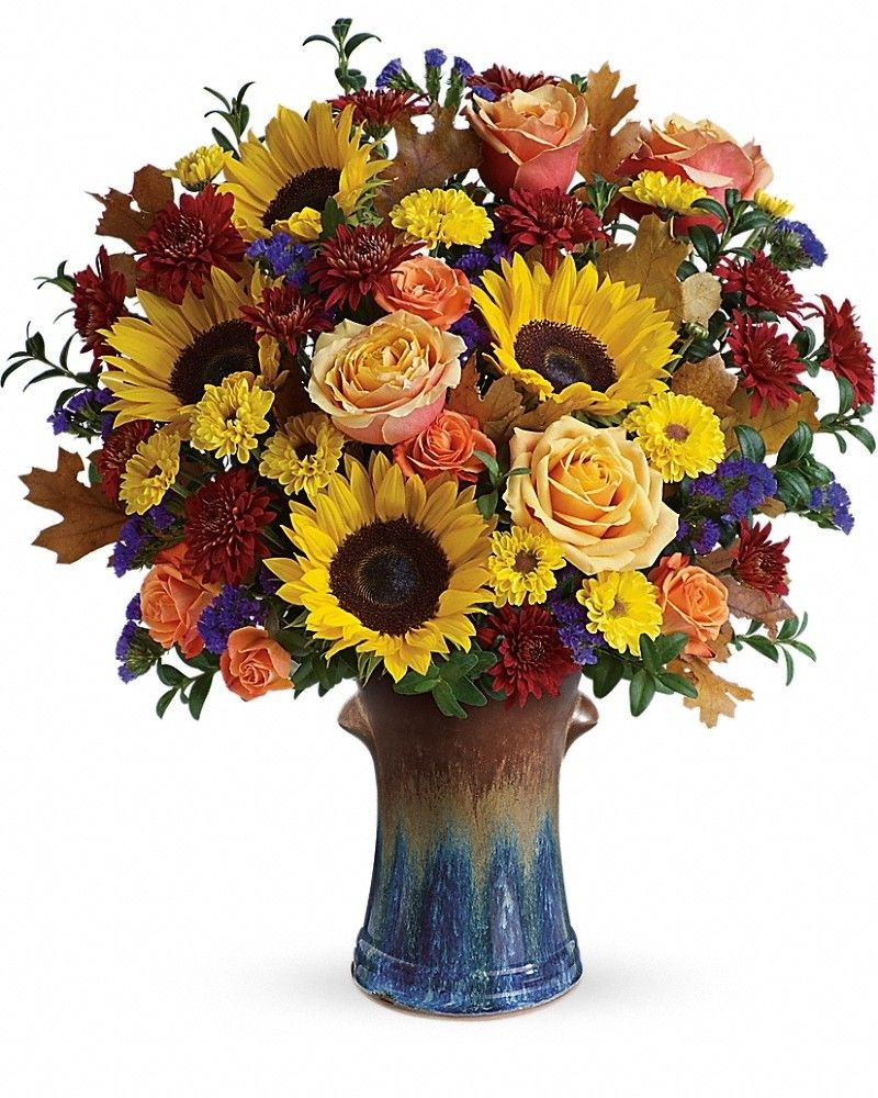 Country Sunflowers Bouquet Thanksgiving flowers