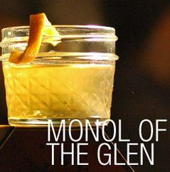Monol of the Glen 1¾ oz SIA Scotch Whisky ¾ oz Cointreau 1 Dash Antica Formula 2 Dashes Chocolate Bitters