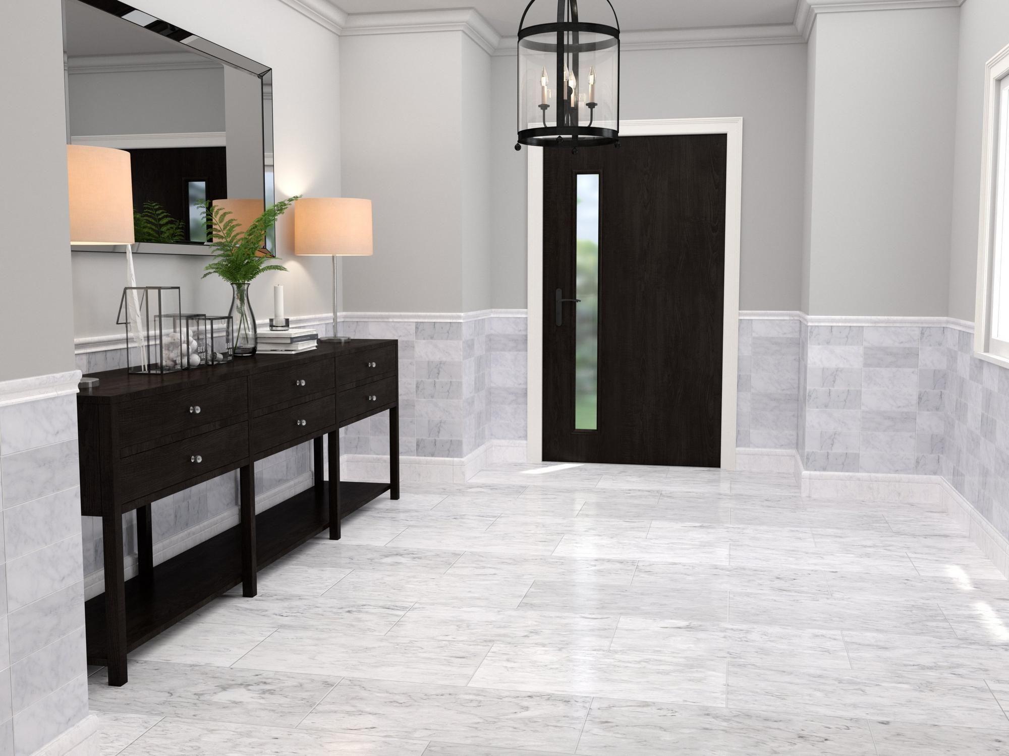 Bianco Carrara Honed Marble Tile Floor Decor Honed Marble Tiles Honed Marble Carrara Marble Tile