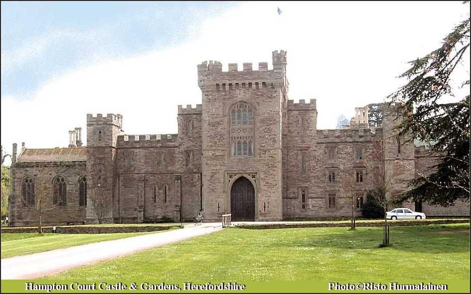 Hampton Court Castle & Gardens, Herefordshire