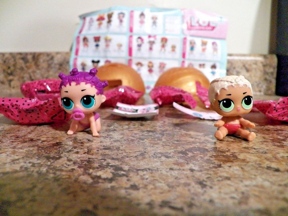 NO BALL Rare LOL Surprise Dolls Sisters LIL GLAMSTRONAUT Color Change