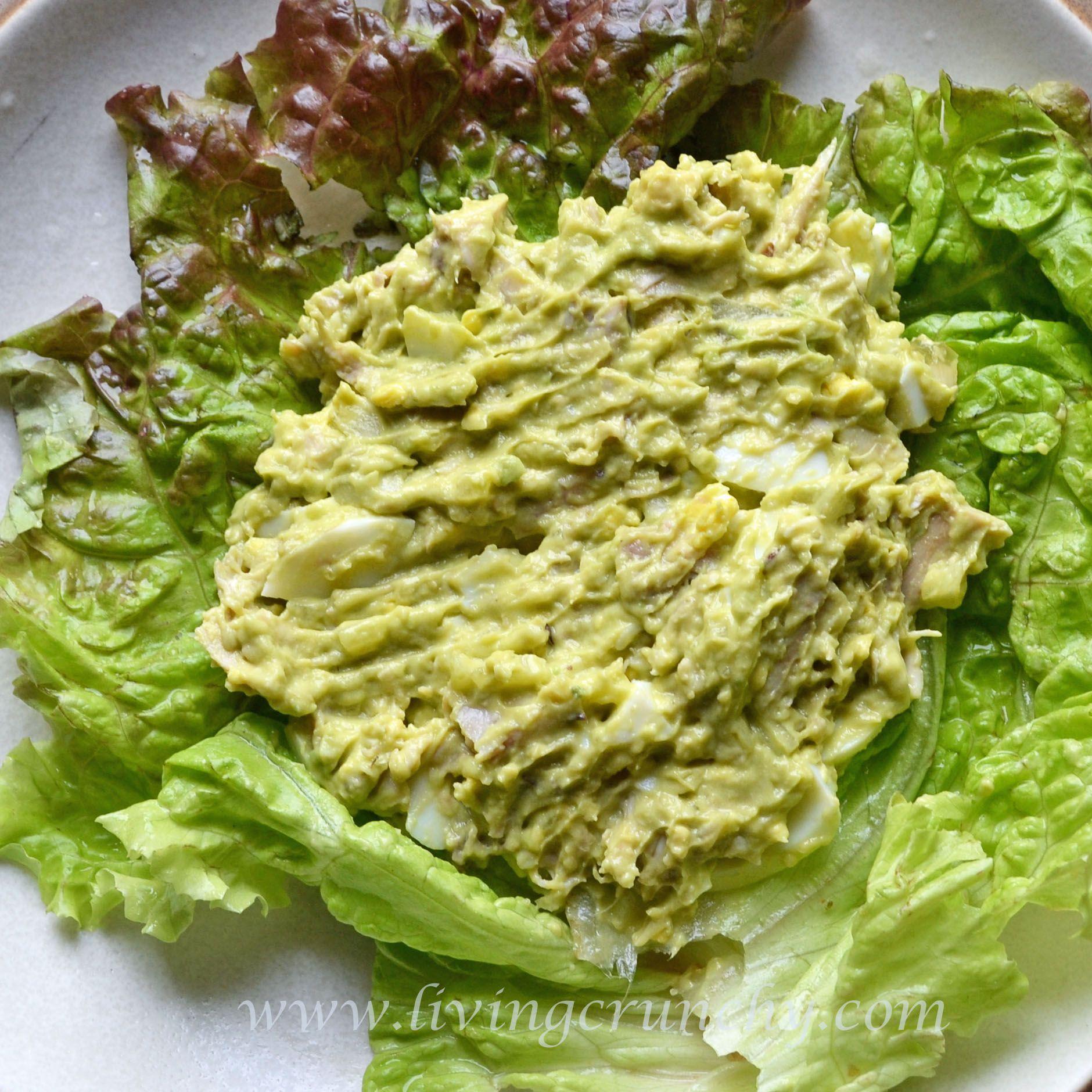 Avocado chicken salad!!