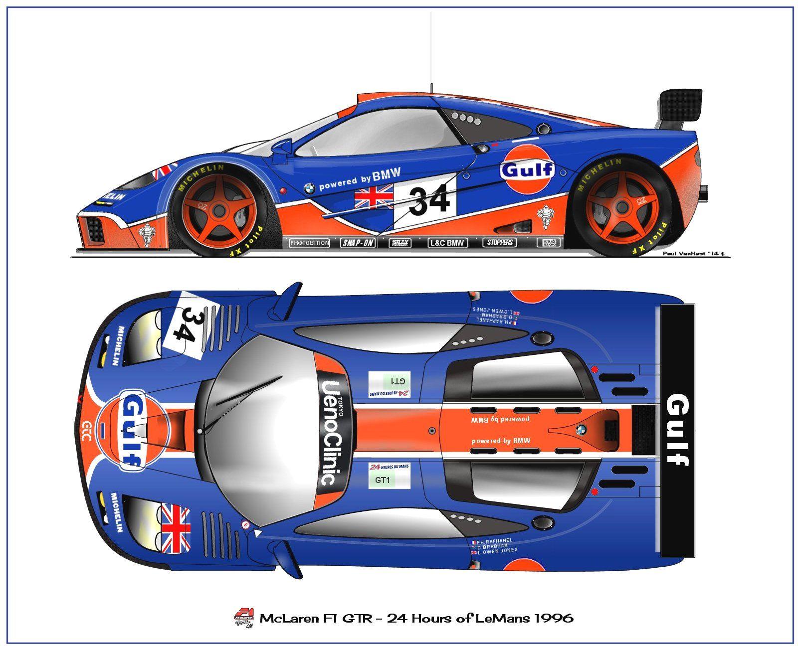 mclaren f1 gtr le mans 1996 motorsports graphic design pinterest mclaren f1 le mans and cars. Black Bedroom Furniture Sets. Home Design Ideas