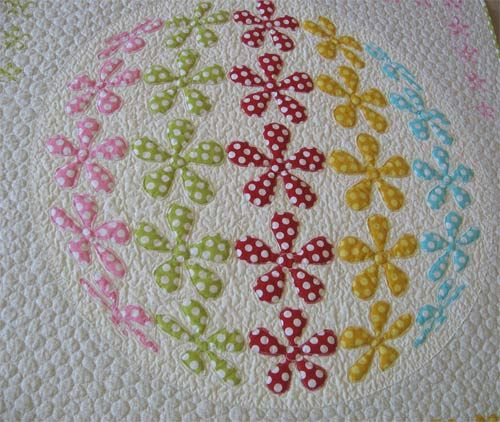 3D Flower Applique Quilt Pattern-Flower Power | Quilt How To's