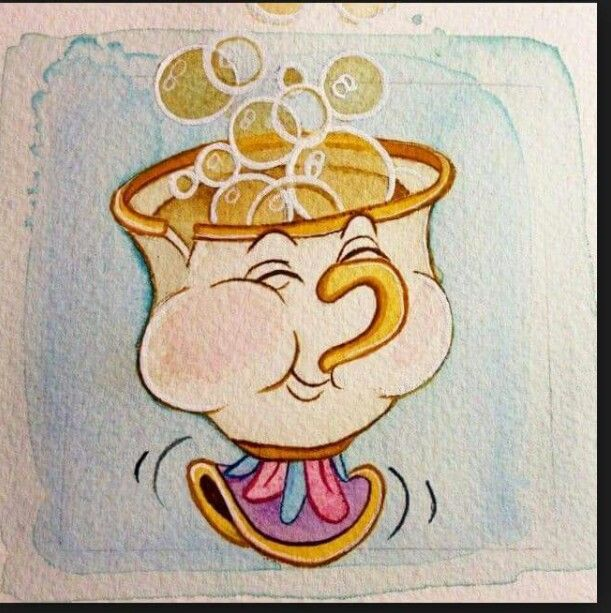 Chip From Beauty And The Beast Disney Drawings Disney Tattoos