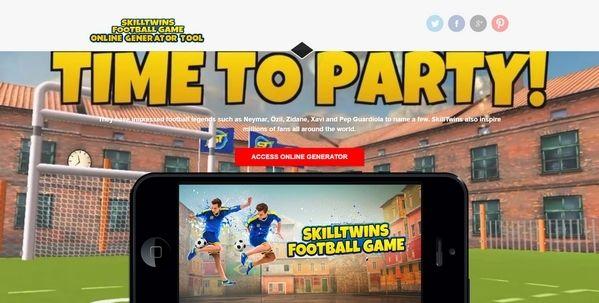 SkillTwins Football Game Frei