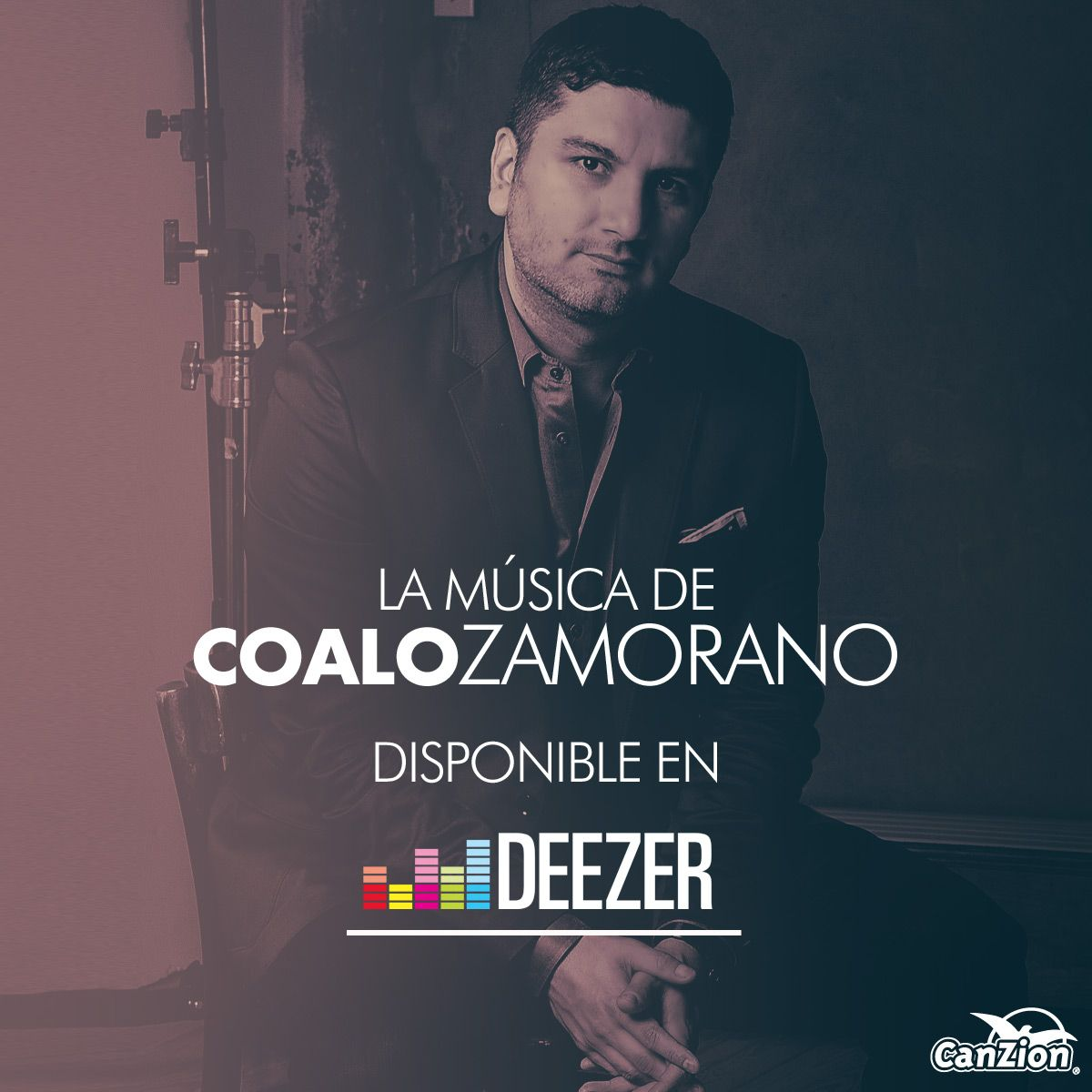 Ahora puedes disfrutar la música de Coalo Zamorano, disponible en #Deezer ➜ http://bit.ly/2aiigml