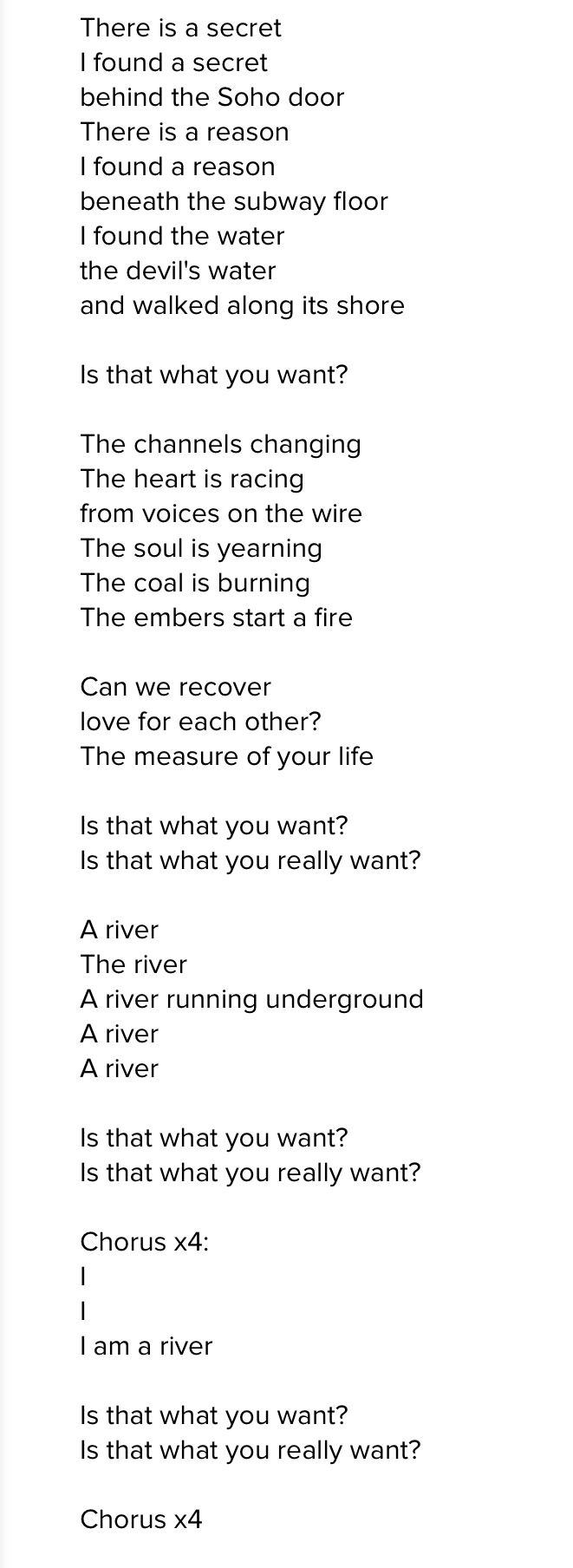 """Foo Fighters....."""" I Am A River""""."""