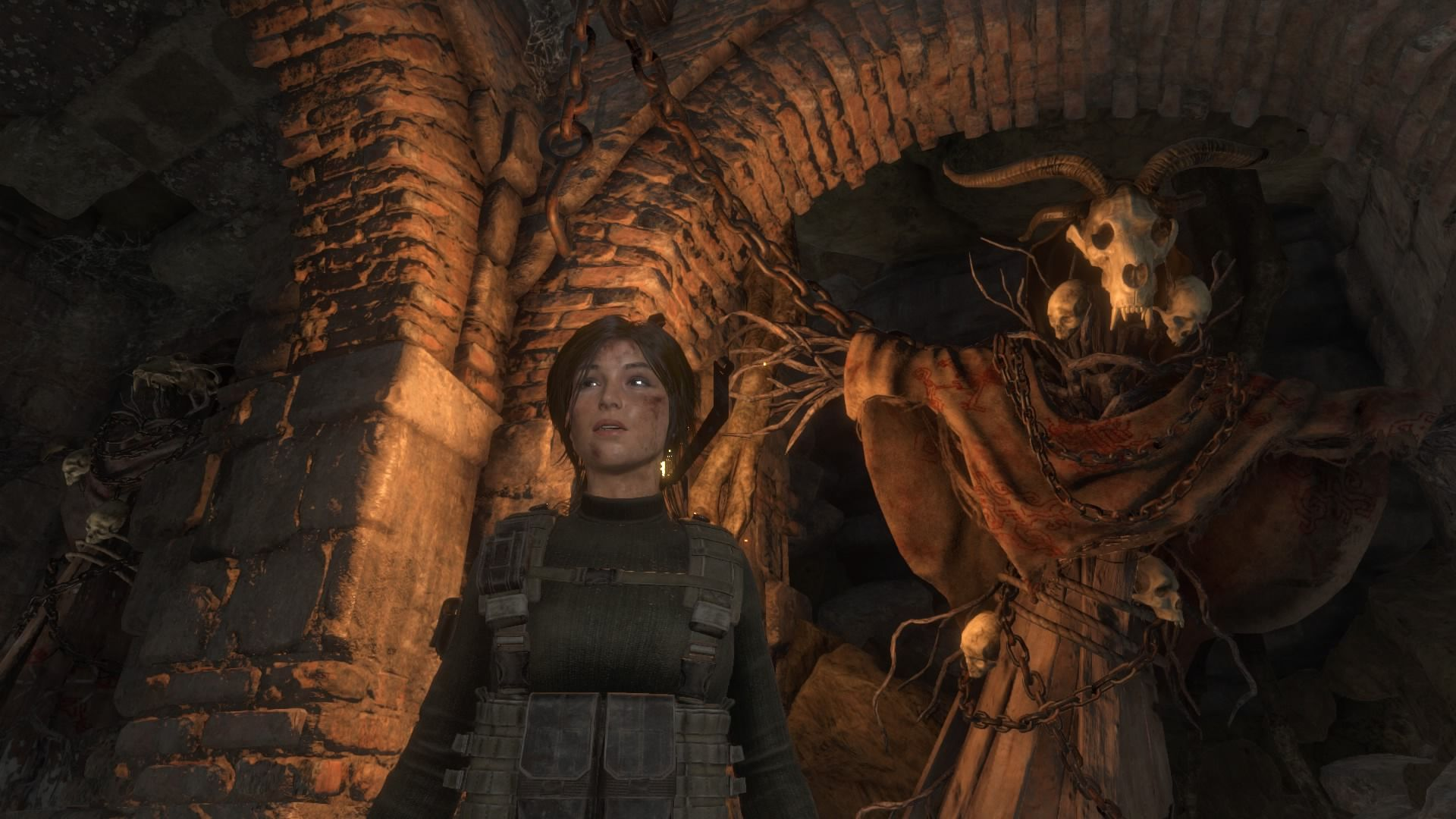 Hunting the witch, lara croft, ps4, rise of the tomb