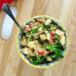 This delicious Mediterranean Quinoa Salad is packed with flavor and so simple to make!