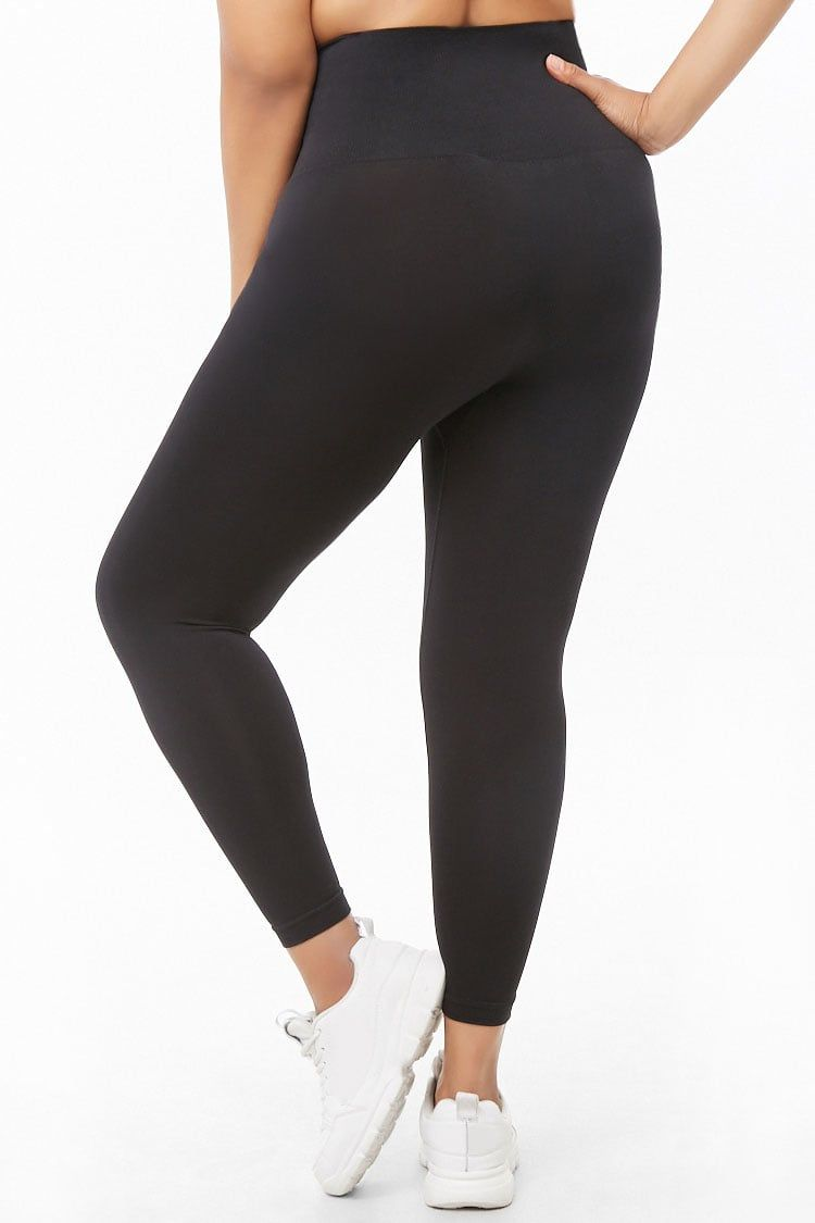 2a366076b26645 Plus Size Control Top Leggings in 2019 | Just My Style | Control top ...