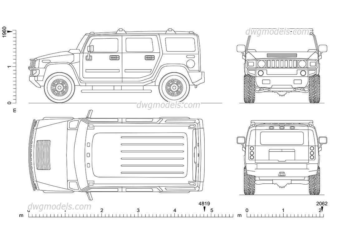 Hummer h2 2002 cad blocks free dwg file cars pinterest hummer h2 2002 cad blocks free dwg file malvernweather Image collections