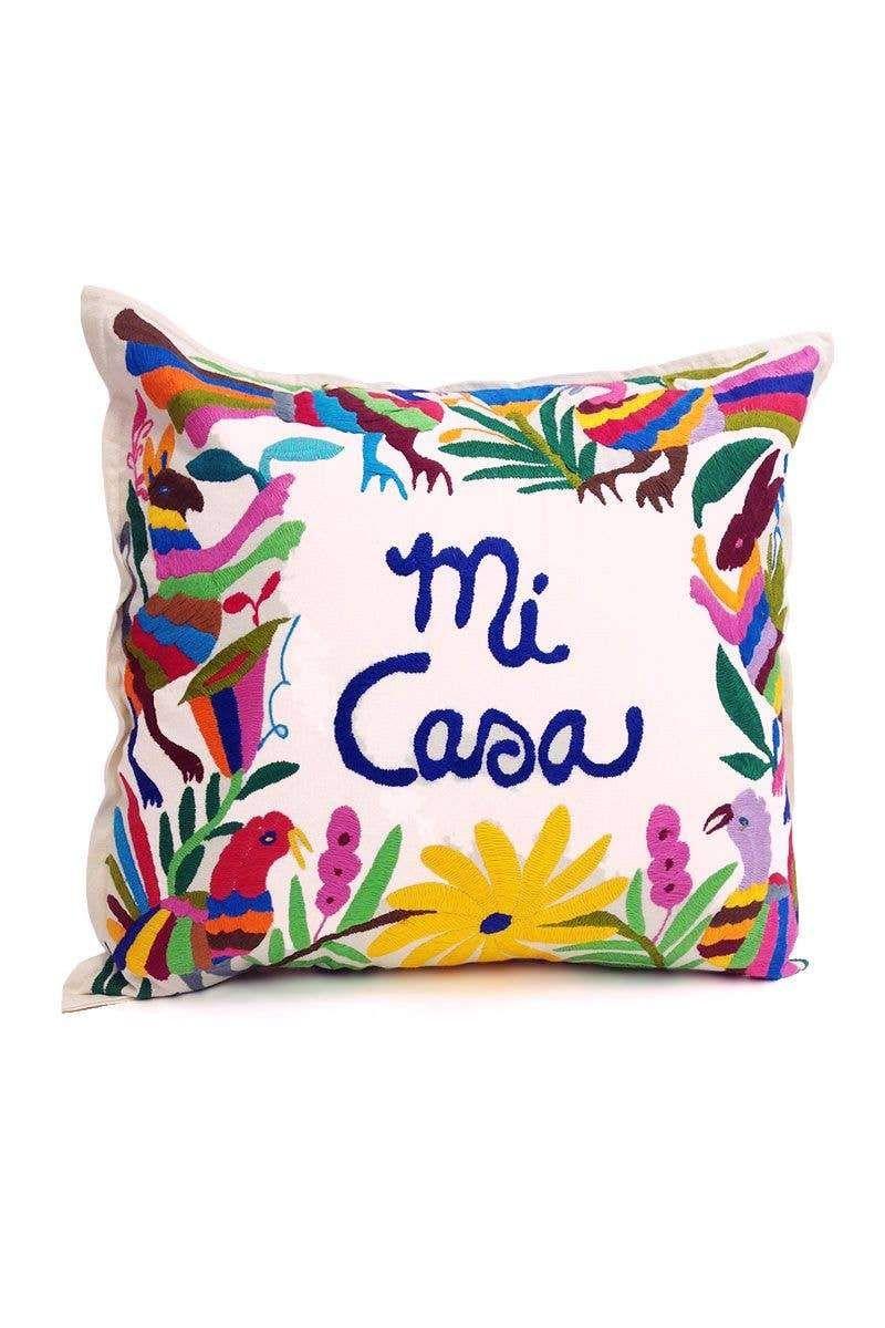 NTSS Mi Casa Otomi Pillow - Default Title