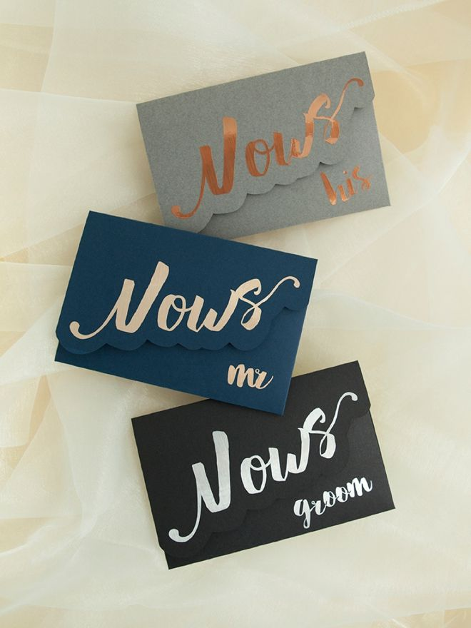 Make your own adorable wedding vow notebooks wedding vows darling diy idea for custom wedding vow notebooks ideas for the guys solutioingenieria Images