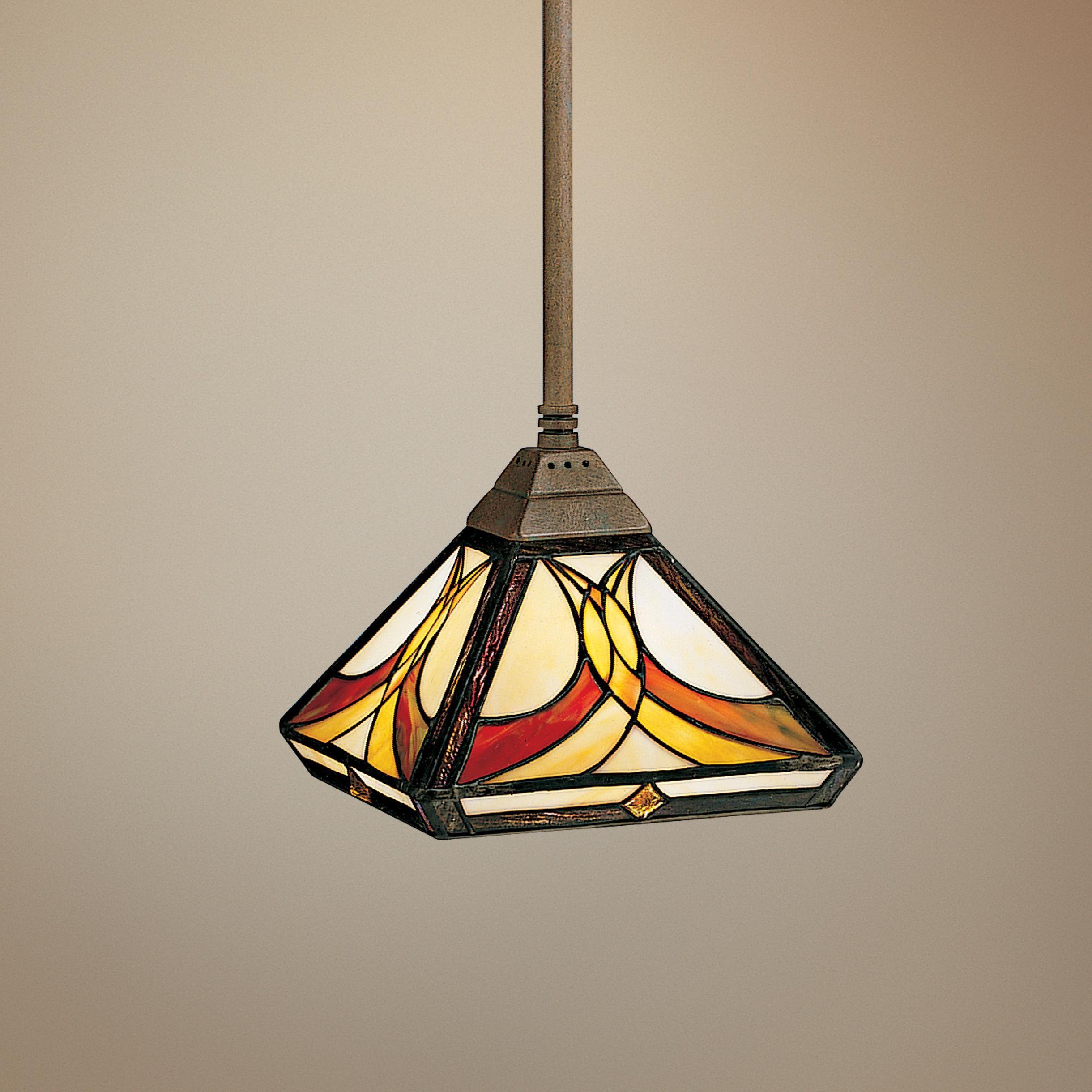 Sonora Collection Tiffany Style Mini Pendant Light ...