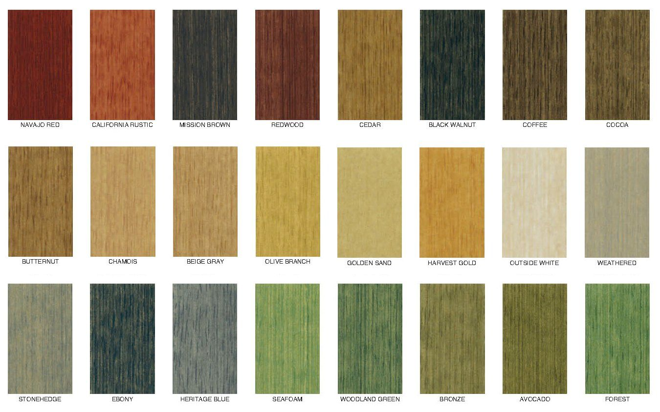 Wood Stain Outside Deck Colors Exterior
