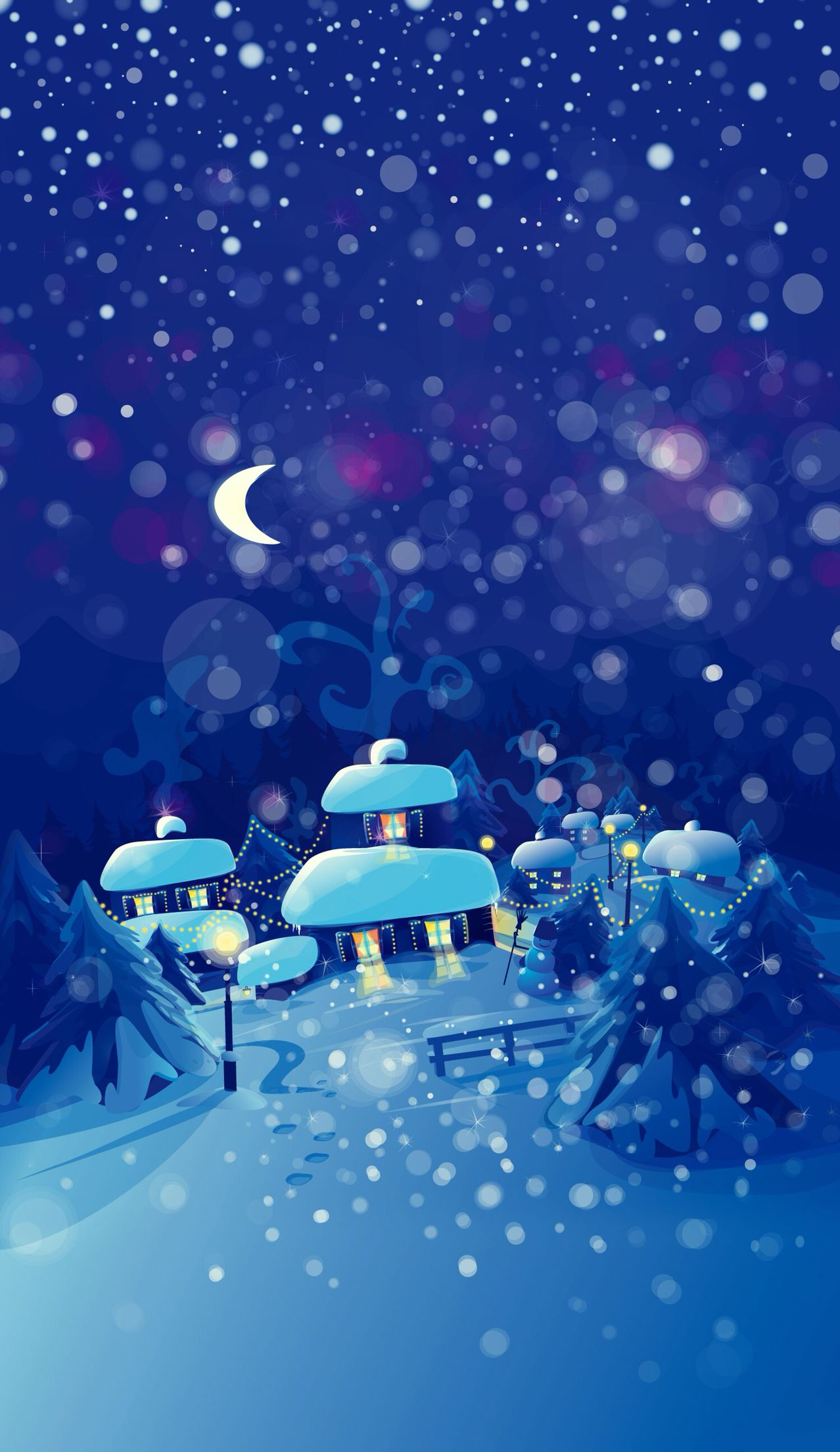Winter Wonderland ☆ Find more Seasonal wallpapers for your #iPhone + # Android…