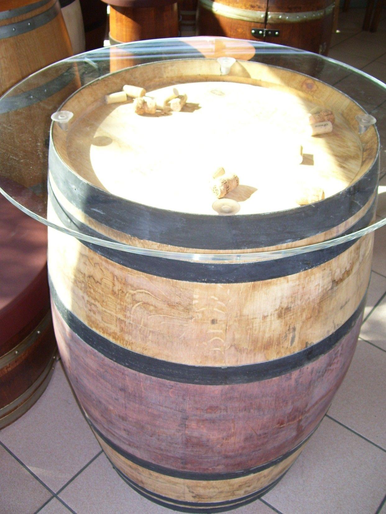 1024 tavolino per pub rustico in legno ricavato da for Botti in legno per arredamento
