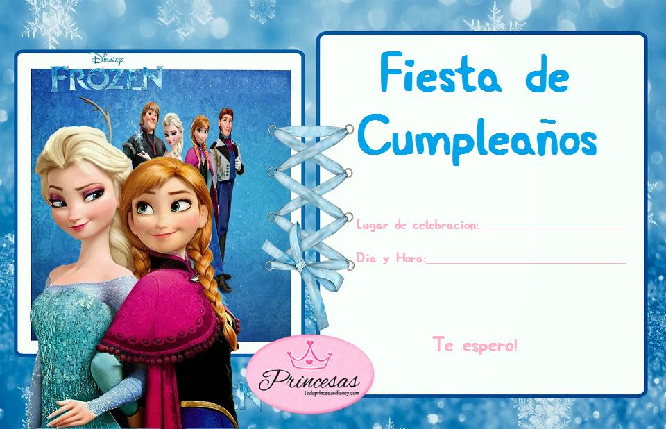Tarjetas De Invitaciones A Cumpleaños Para Imprimir Para