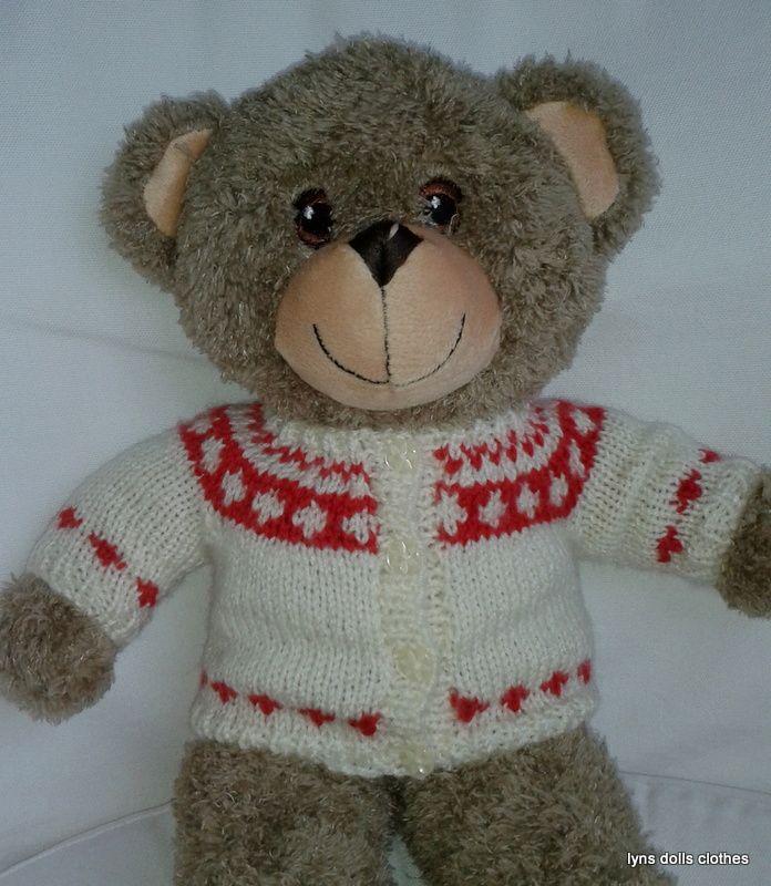 little ted's cardi | Teddy bear clothes, Teddy bear ...