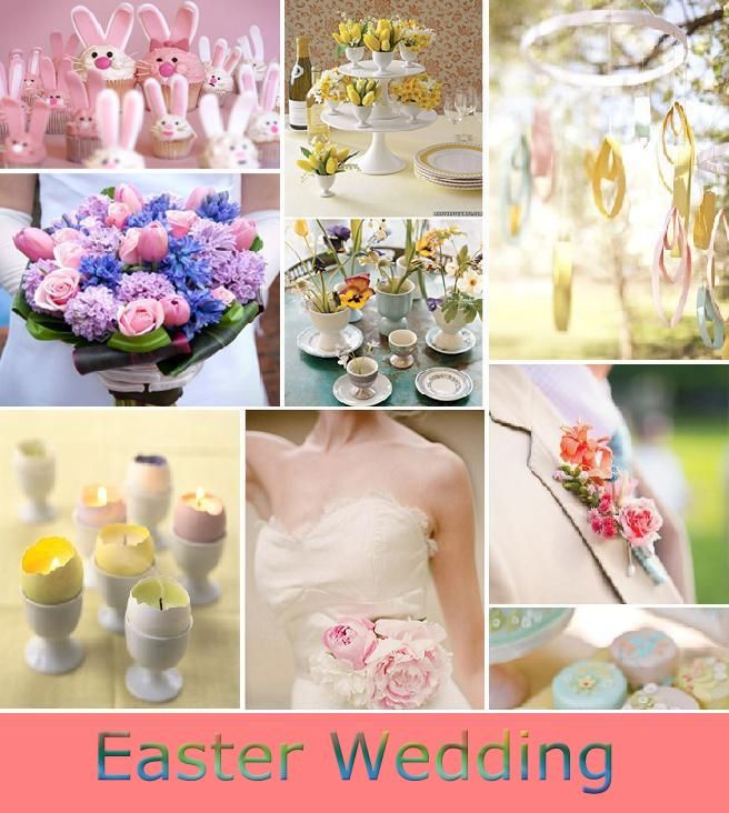 Easter Wedding Theme Ideas For Spring