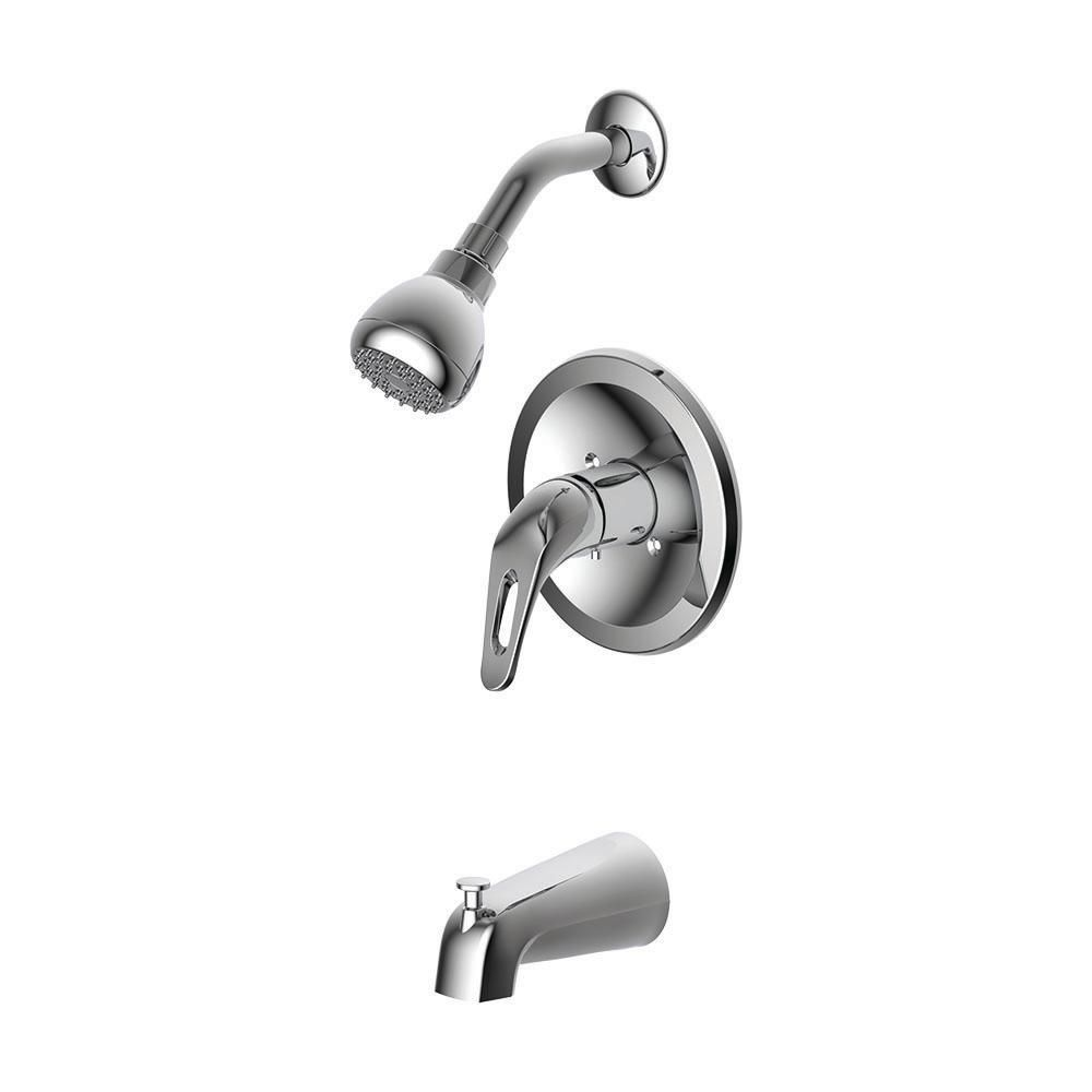 Ez Flo Prestige Collections 1 Handle Tub And Shower Trim Kit In