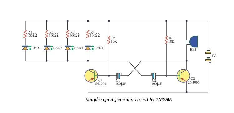 Simple signal generator circuit by 2n3906 electronic circuits simple signal generator circuit by circuit diagram best free home design idea inspiration asfbconference2016 Images