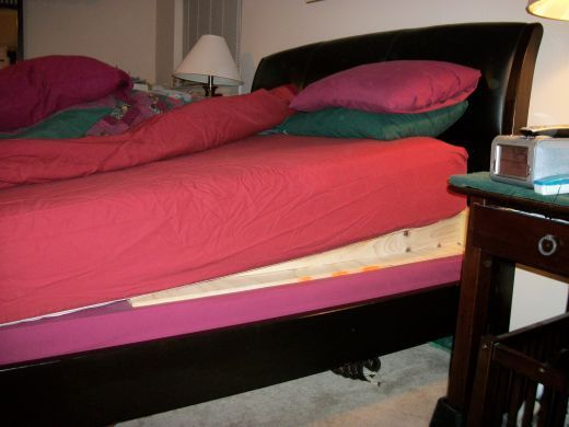 Elevate The Head Of The Bed Put A Wedge Or Books Between The