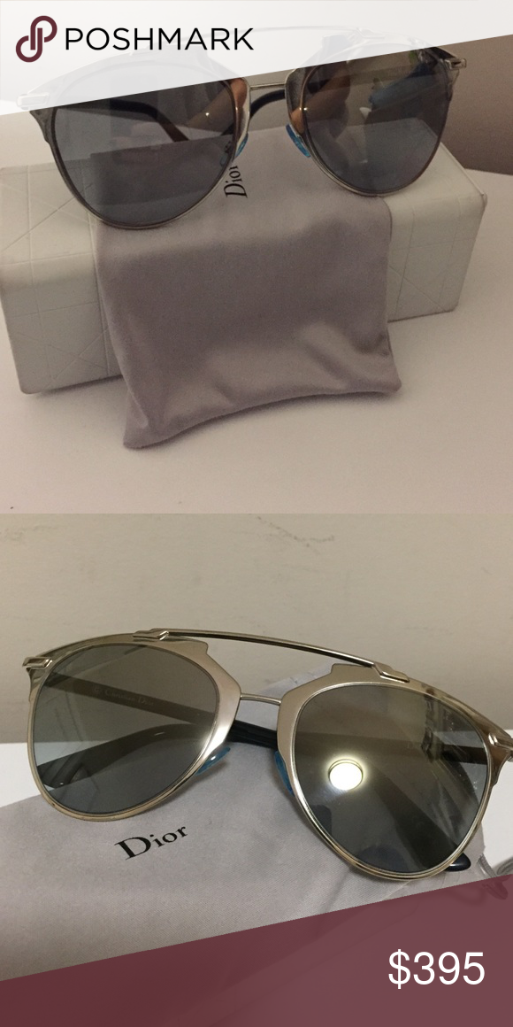 1d81ec9110bc Dior Reflected sunglasses Dior Reflective 52mm Modified Pantos Sunglasses -  color palladium (silver). Authentic