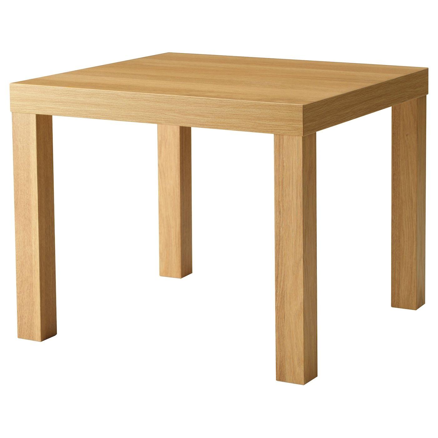 LACK Side table - oak effect 55x55 cm in 2020 | Lack ...